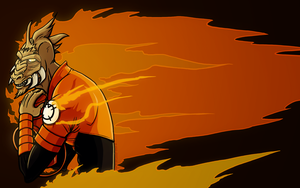 ALL THE ORANGE by Res-Gestae