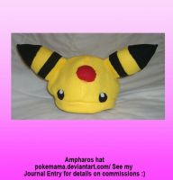 Ampharos hat by PokeMama