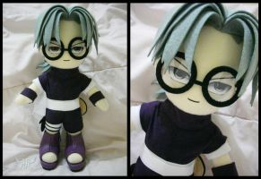 Kabuto Yakushi 2nd Version Plushie by renealexa-plushie