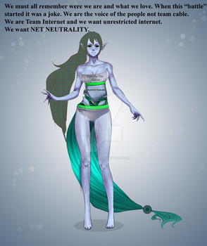 Techina - model: NET NEUTRALITY by netsurfer77