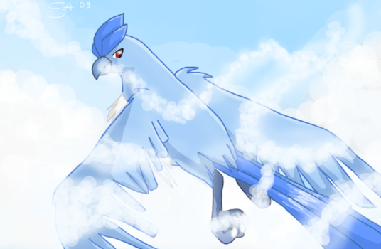 Cloud Dancing by AmyPigeon