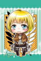 Shingeki no Kyojin - Armin by moonu17