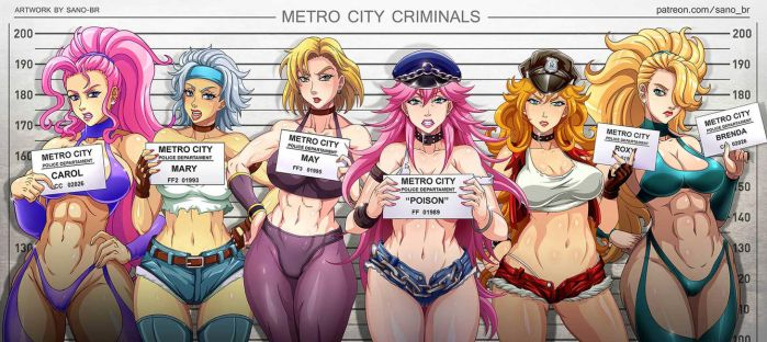 Metro City - Criminals (Patreon) by Sano-BR