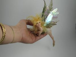 fae on the hand, 2008 by polymer-people