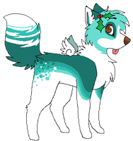 Winter themed Auction Adoptable! CLOSED by SpunkyAdopts