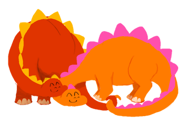 Dinos by YamPuff