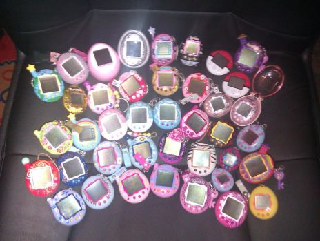 Tamagotchi Collection by MissChry
