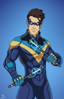 Nightwing (E27 edit) 01 by phil-cho