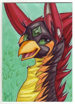 [ACEO] Phoeline by Diaminerre