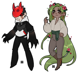 [Adopts $] Extra chibs by Reiki-kun