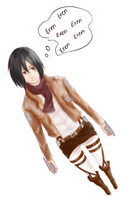 Mikasa by Crestling