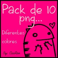 Pack de monstruos png .. by CaaRooeditions