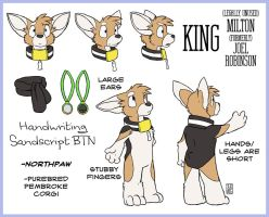 King Character Sheet by RickGriffin