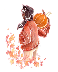 Fall Vibes by PenguinEsk
