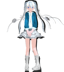 MMD - Snow Miku + Download by Calculated-Lie