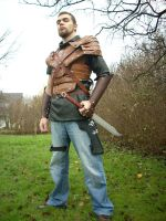 ranger leather armor 2. by Restyler