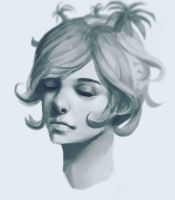 Tree Girl Portrait by JamesExcalibur