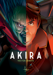 AKIRA VECTOR DUO copyright Orlando Arocena 2013 by olo409