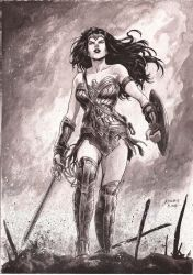 Wonder Woman by kewber