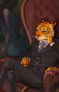 Tiger Lawyer by ElizabethBeals