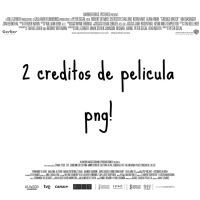 2 Creditos De Pelicula Png by AliceTutoriales204