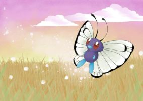 Wild Butterfree 2 by ArtsyMaria