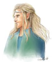 Fili the Elf by whitebat1709