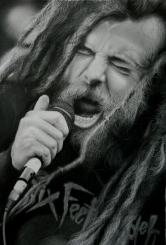 Chris Barnes by vipinraphel