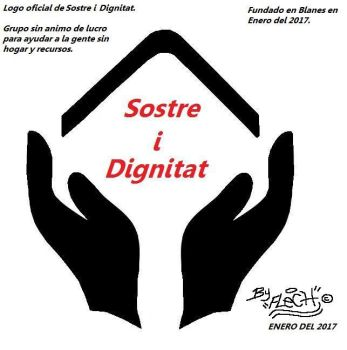 Sostre i Dignitat logo 2017 by Flech by Flexcorp