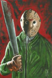 Jason Voorhees by JSimonART