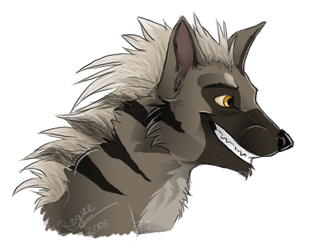 Aardwolf by RogueLiger