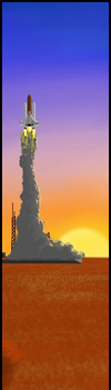 Lift-Off Bookmark by GarrettRS