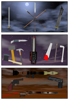 Royalty Free Weapon Pack by Kyotita