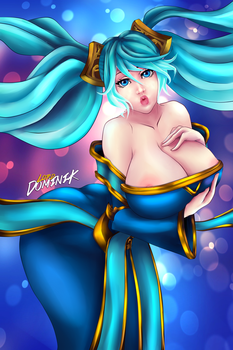 Sona by Lord-Dominik