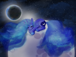Nightmare Luna-Princess Nightmare by AbductionFromAbove