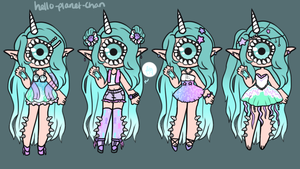 Outfit set - Melodia by hello-planet-chan