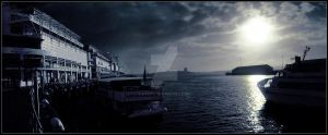 Viaduct Harbour by barns