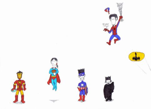 Funny Heroes by dp6