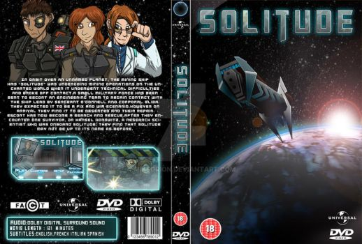HND Final Project -DVD Cover Jacket by MikeOrion