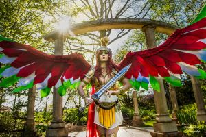 The Legendary Ho-Oh by TerminaCosplay