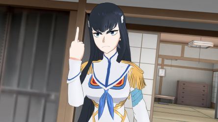 Satsuki does not approve... by Nastrodamus666