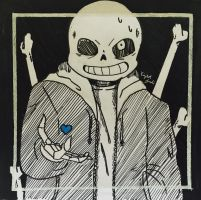 Sans by Tomboywolfthief