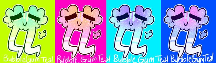 OOh new stickers by Bubblegumteal