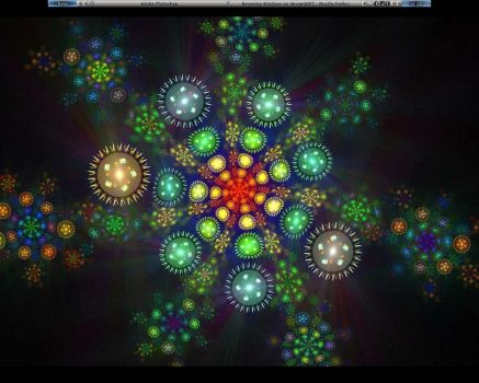 my Xmas desktop 2007 by TazounsBones