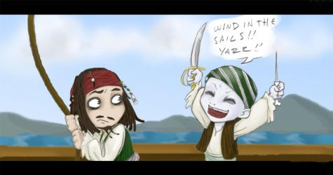 Voldie want's to be a pirate by uppuN