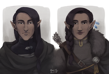 Critical Role - The Twins by kindlyanni