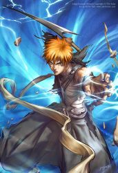 BLEACH   Ichigo  s bankai by zizo200575