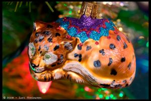 Waterford Cat Ornament 1 by Vamppy