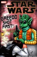 Greedo shot first! sketch cover by gb2k