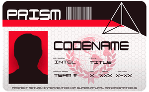 PRISM | ID Card by ssspitfire